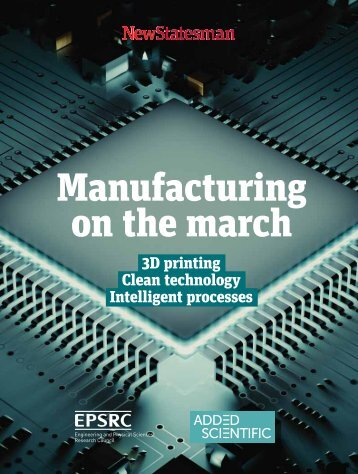 Manufacturing on the march