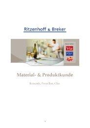 Keramik, Porzellan, Glas - Ritzenhoff & Breker