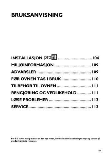 KitchenAid 300 947 28 - Oven - 300 947 28 - Oven NO (857917901510) Istruzioni per l'Uso