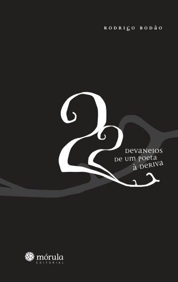 22 devaneios de um poeta à deriva