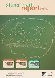 Steiermark Report August 2009 - einseitige Ansicht (für kleinere