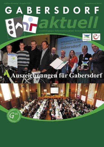und kinderfreundliche Gemeinde Österreichs - Gemeinde Gabersdorf