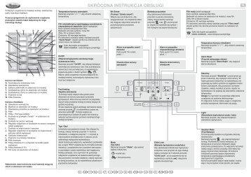 KitchenAid 20RB-D4L A+ - Side-by-Side - 20RB-D4L A+ - Side-by-Side PL (858645011020) Scheda programmi