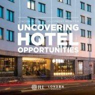 LONDON HOTEL DEVELOPMENT MONITOR