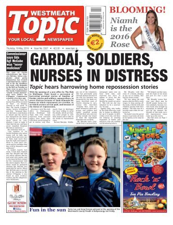 Westmeath Topic - 19 May 2016