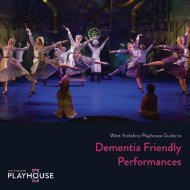 Dementia Friendly Performances
