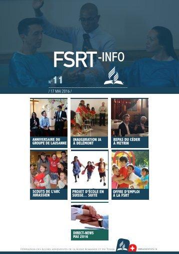 FSRT-info + Direct-News - Mai 2016