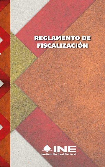 REGLAMENTO DE FISCALIZACIÓN