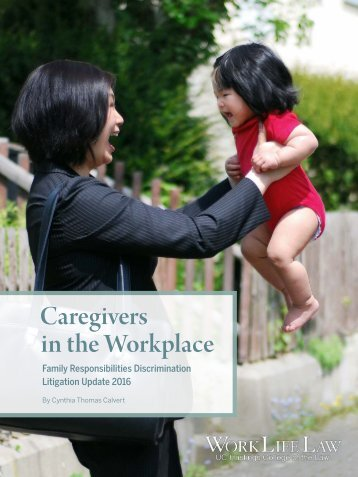 Caregivers in the Workplace