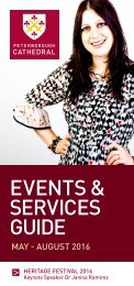 EVENTS & SERVICES GUIDE