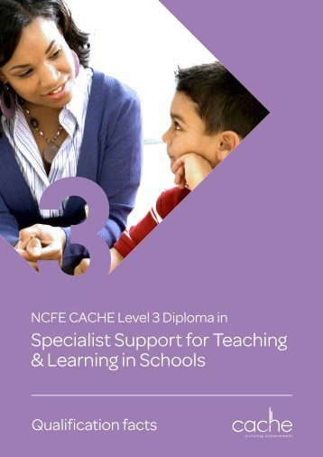 Specialist Support for Teaching & Learning in Schools