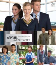 Hospitality Apparel %26 Accessories 2016