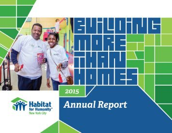 """Habitat has been a dream come true"