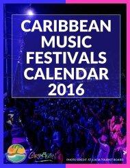 CARIBBEAN MUSIC FESTIVALS CALENDAR 2016