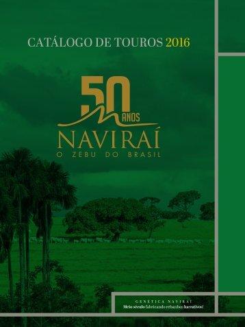 CATÁLOGO DE TOUROS 2016