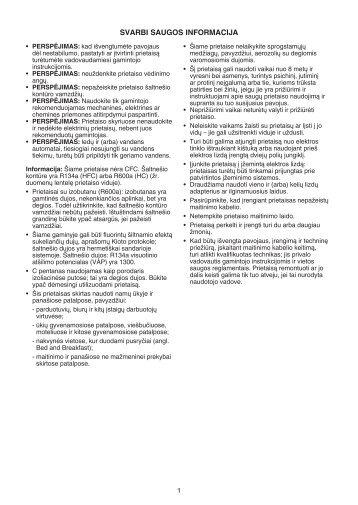 KitchenAid ZSB 1801 AA - Refrigerator - ZSB 1801 AA - Refrigerator LT (859991009220) Istruzioni per l'Uso