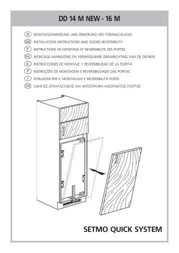 KitchenAid 904.2.02 - Fridge/freezer combination - 904.2.02 - Fridge/freezer combination EUR (850365516010) Installazione
