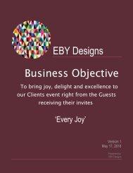 EBY Designs Magazine 2