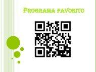 Programa favorito 2