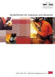 Schleifmittel für Industrie und Gewerbe - Taff Tool AG
