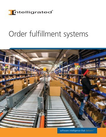 Order fulfillment systems
