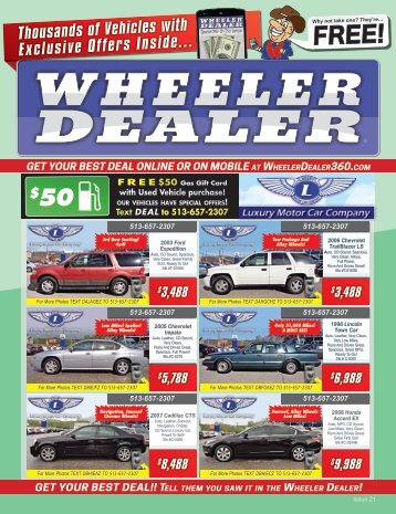 Wheeler Dealer Issue 21, 2016