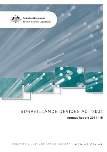 SURVEILLANCE DEVICES ACT 2004