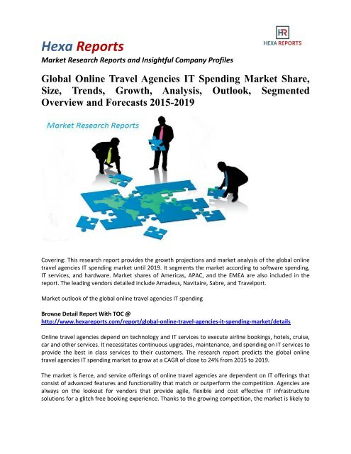 Global Online Travel Agencies IT Spending Market Share, Size and