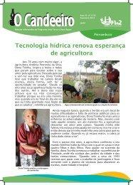 Tecnologia h?drica renova esperan?a de agricultora
