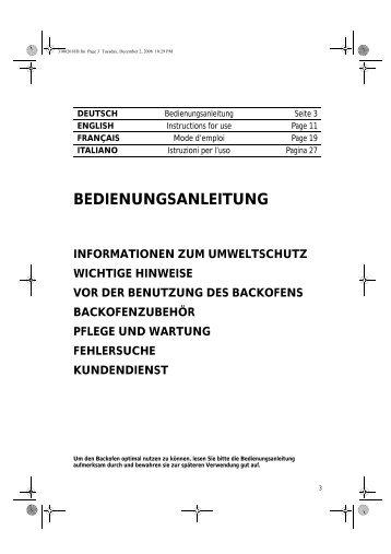 KitchenAid G2P 61F/01 BK - Oven - G2P 61F/01 BK - Oven DE (854186915010) Istruzioni per l'Uso