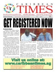 Caribbean Times 10th Issue - Wednesday 18th May 2016