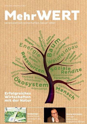 MehrWERT-Magazin Heft 1
