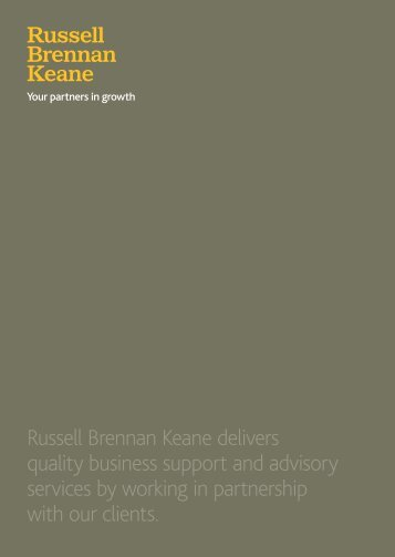 Russell Brennan Keane delivers quality business support and ...