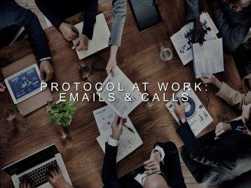 Professional Protocol (ESCO)