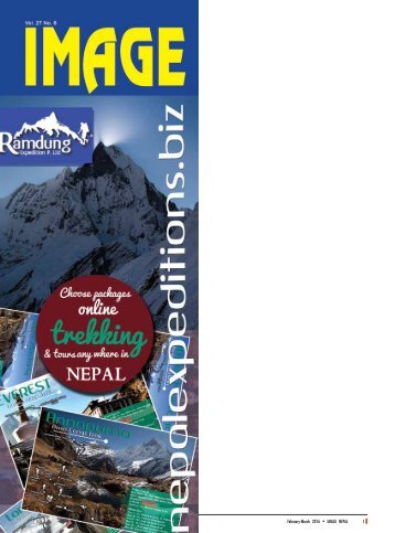 Image Nepal, International Travel Magazine