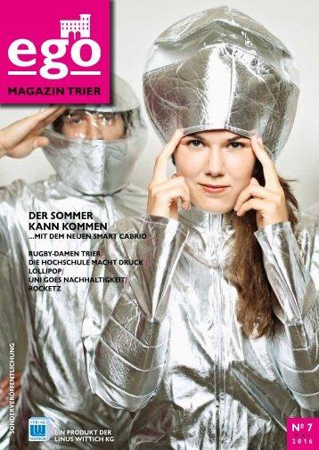 ego Magazin Trier - Ausgabe 7