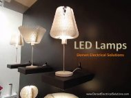 LED Lamps - Dorset Electrical Solutions