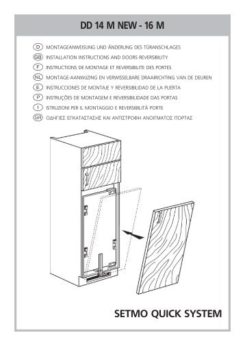 KitchenAid 904.2.12 - Fridge/freezer combination - 904.2.12 - Fridge/freezer combination EUR (850365516000) Installazione