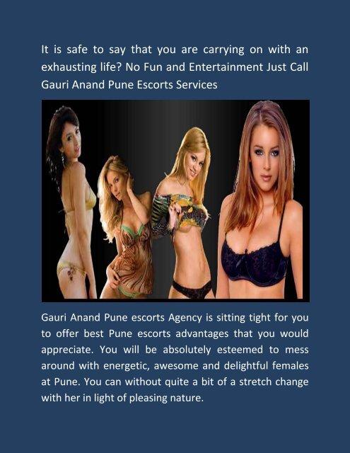 Gauri Anand Pune escorts services