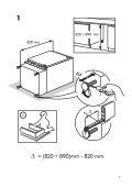 KitchenAid UC FZ 81 - Freezer - UC FZ 81 - Freezer EUR (850785115000) Installazione - Page 7