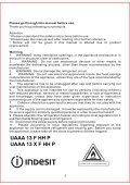 KitchenAid UAAA 13 F HH P - Freezer - UAAA 13 F HH P - Freezer RO (F084991) Istruzioni per l'Uso - Page 4