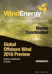 Global Offshore Wind 2016 Preview