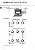 KitchenAid F 60.1 IX - Oven - F 60.1 IX - Oven AR (F033093) Istruzioni per l'Uso - Page 4