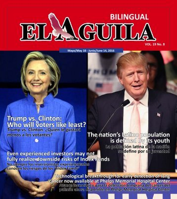 El Aguila Magazine – May 18, 2016
