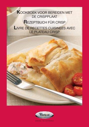 KitchenAid JQ 280 SL - Microwave - JQ 280 SL - Microwave FR (858728099890) Ricettario