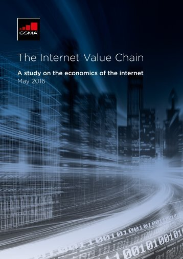 The Internet Value Chain