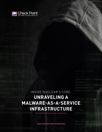 UNRAVELING A MALWARE-AS-A-SERVICE INFRASTRUCTURE