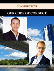 OUR CODE OF CONDUCT