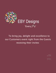 EBY Designs Magazine