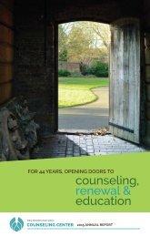 counseling renewal & education